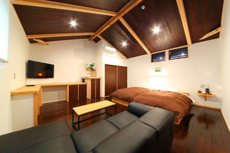 【仁】2階リビング・ベッド